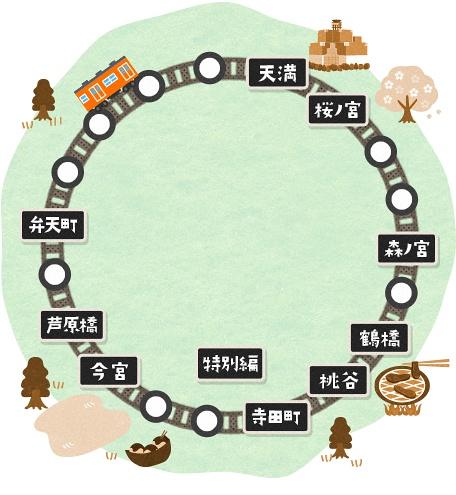 大阪环状线每站爱物语2
