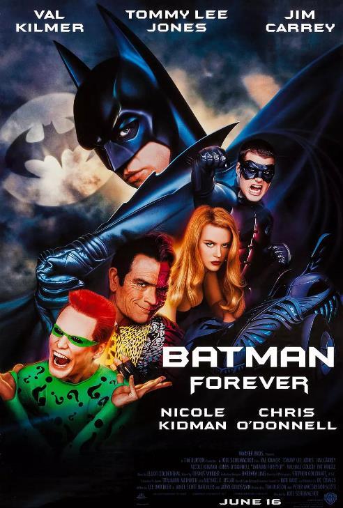 永远的蝙蝠侠/新蝙蝠侠之不败之谜